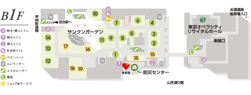 b1階平面図