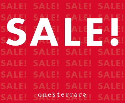 『 one's SALE 』 スタート!の画像