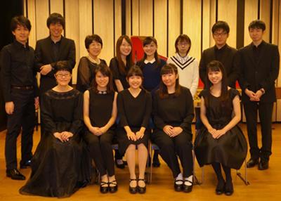 桐朋学園大学古楽器科学生