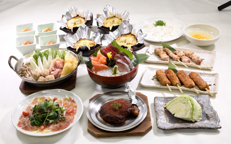 「選べる鍋付き!!忘年会&新年会特別コース」の画像