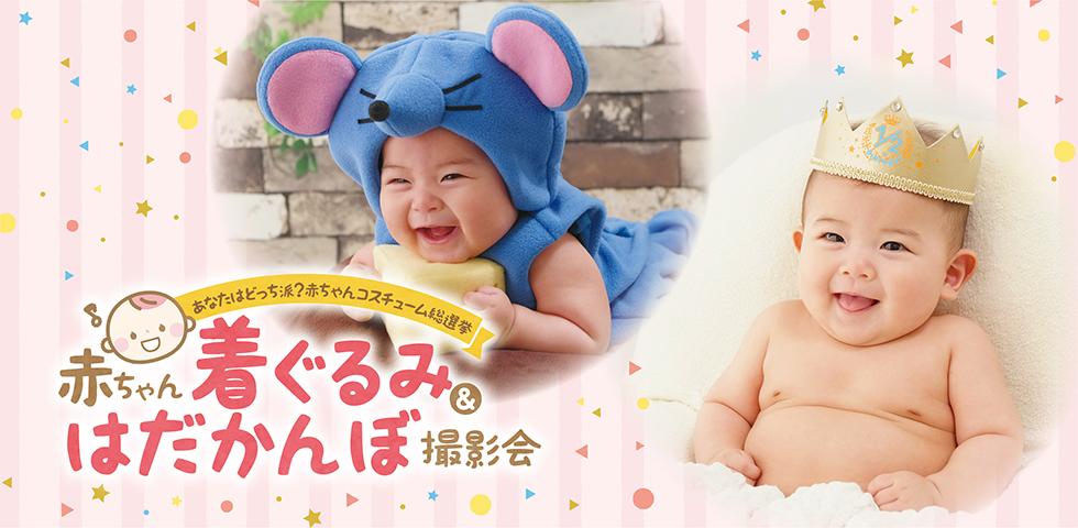 赤ちゃん「着ぐるみ」&「はだかんぼ」撮影会の画像